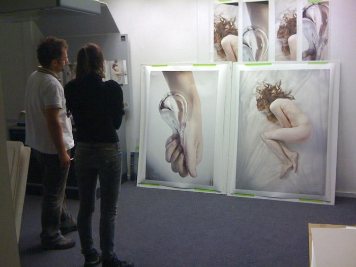 Foto's printen voor expositie Menzis / Azivo