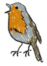 roodborstje